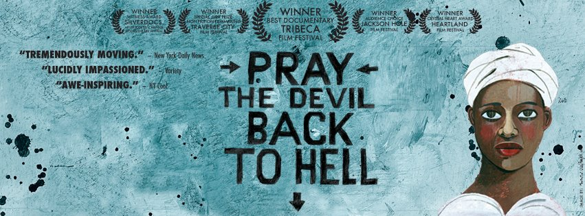 Pray the Devil Back to Hell film screening at Victoria University